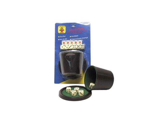 Kelímok na kocky De Luxe s kockami