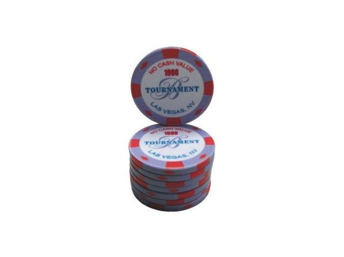 Poker chip keramický s vlastným logom 43 mm