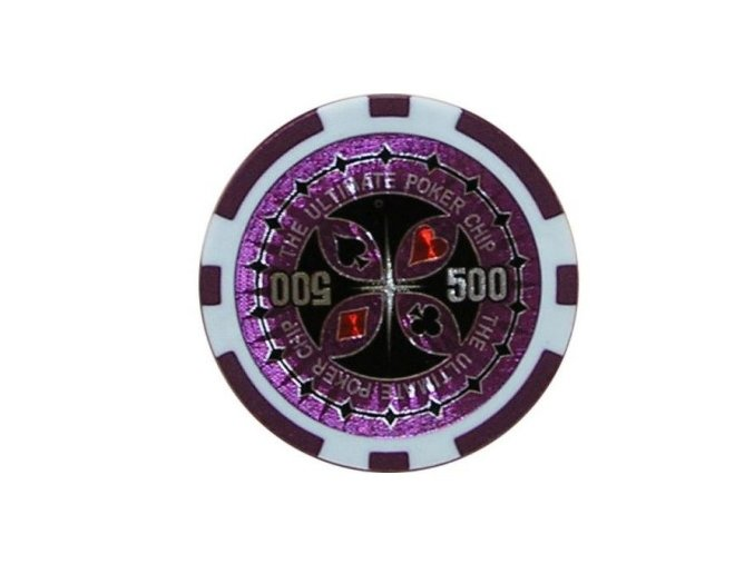 Poker chip Ultimate hodnota 500
