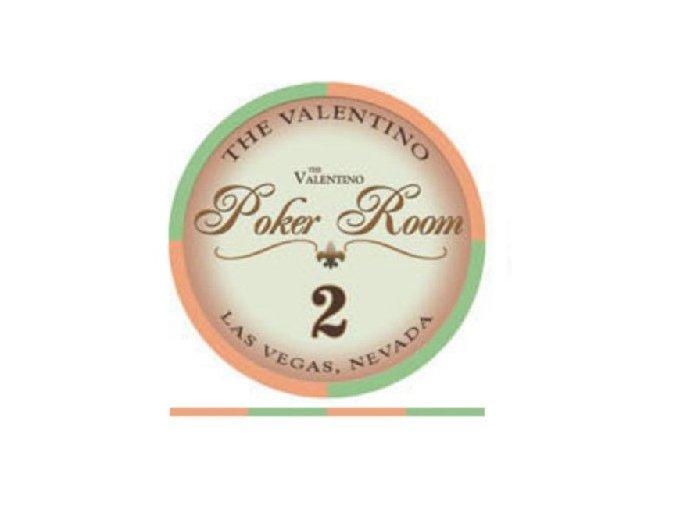 Poker chip Valentino hodnota 2