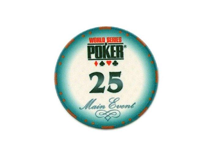 Poker chip WSOP hodnota 25