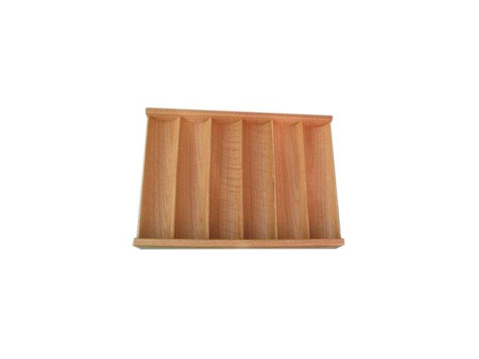 Pokrový chiptray drevený pre 300 žetónov