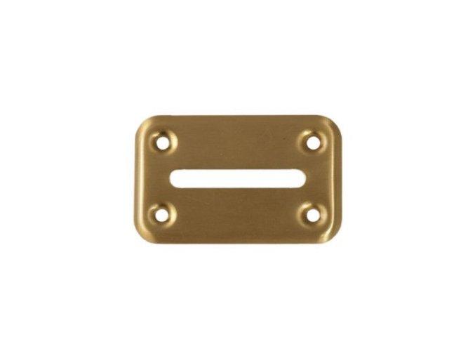 Ústa pre cash box zlaté malé