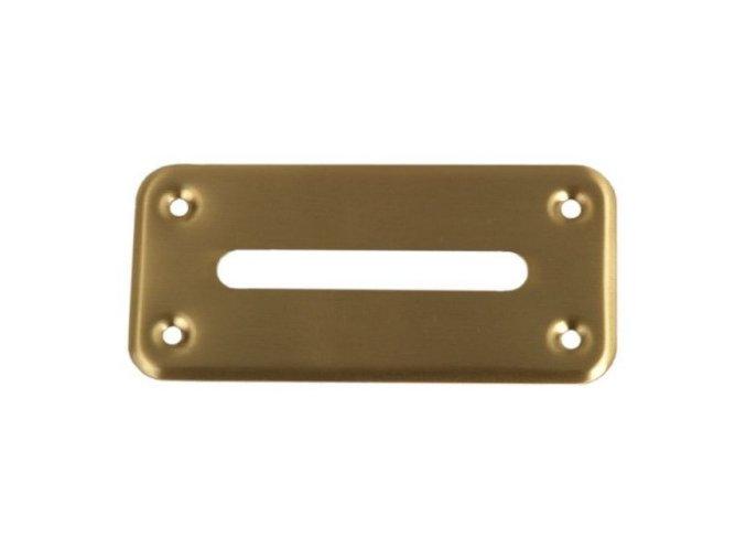 Ústa na cash box zlaté veľké