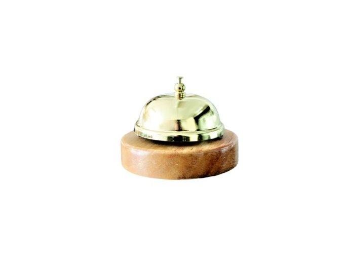Zvonček s dreveným podstavcom