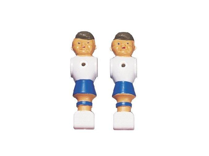 Hráč na stolný futbal modrobiely