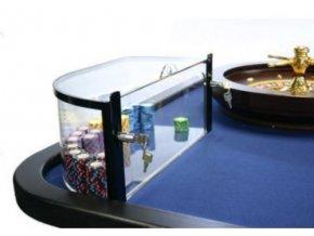 Akrylový box pre ruletové žetóny ľavý