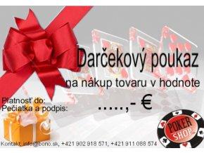 Darčekový poukaz na 100€