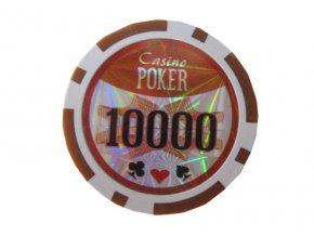 Poker chip Casino POKER hodnota 10 000