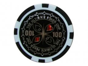 Poker chip Ultimate hodnota 100