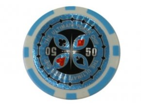 Poker chip Ultimate hodnota 50