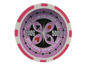 Poker chip Ultimate hodnota 5 000