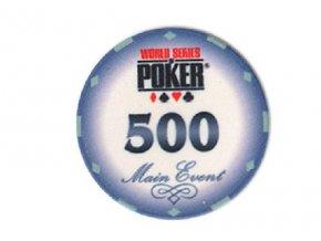 Poker chip WSOP hodnota 500