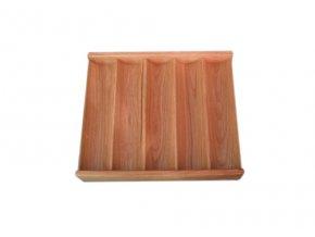 Pokrový chiptray drevený pre 250 žetónov