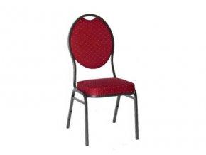 Stolička k pokrovému stolu BRILLANT červená