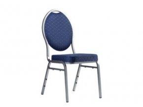 Stolička k pokrovému stolu BRILLANT modrá
