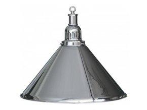 Biliardová lampa strieborná 1 tienidlo komplet