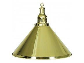 Biliardová lampa zlatá 1 tienidlo komplet