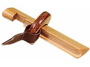 Držiak na lepenie špičiek drevenný
